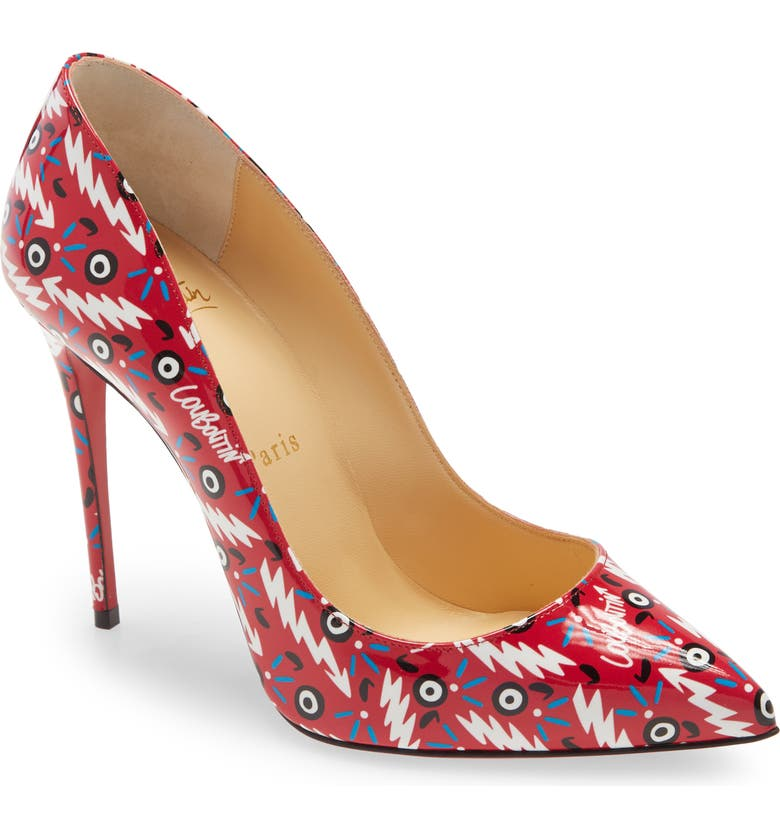 CHRISTIAN LOUBOUTIN Pigalle Follies Ginzana Pointed Toe Pump, Main, color, LOUBI