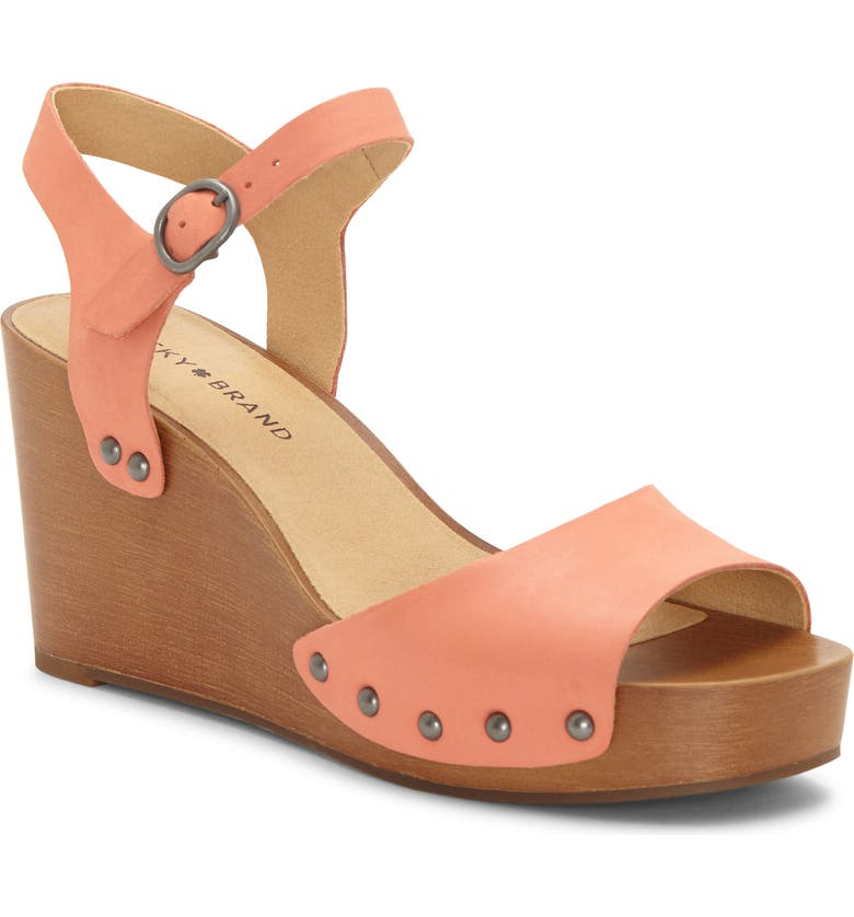 LUCKY BRAND Zashti Wedge Sandal, Main, color, 950