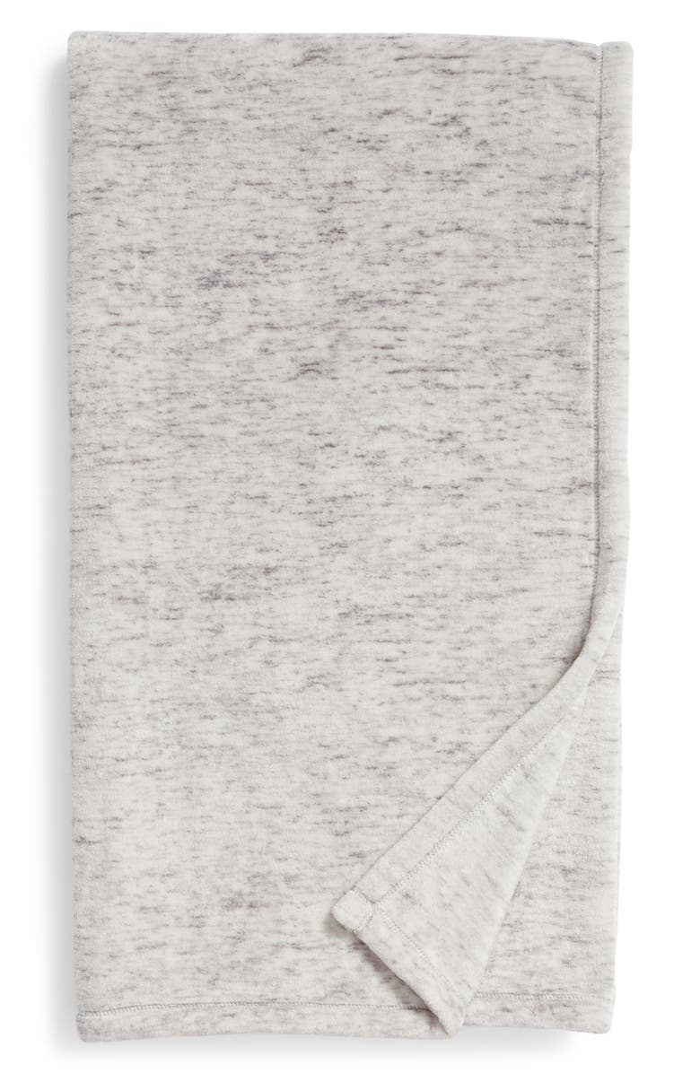 NORDSTROM at Home Heathered Throw, Main, color, 021