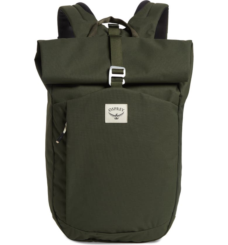 OSPREY Arcane Roll Top Backpack, Main, color, HAYBALE GREEN