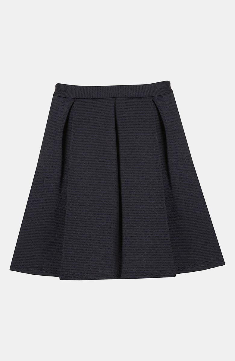 TOPSHOP Pleated Skirt, Main, color, 410