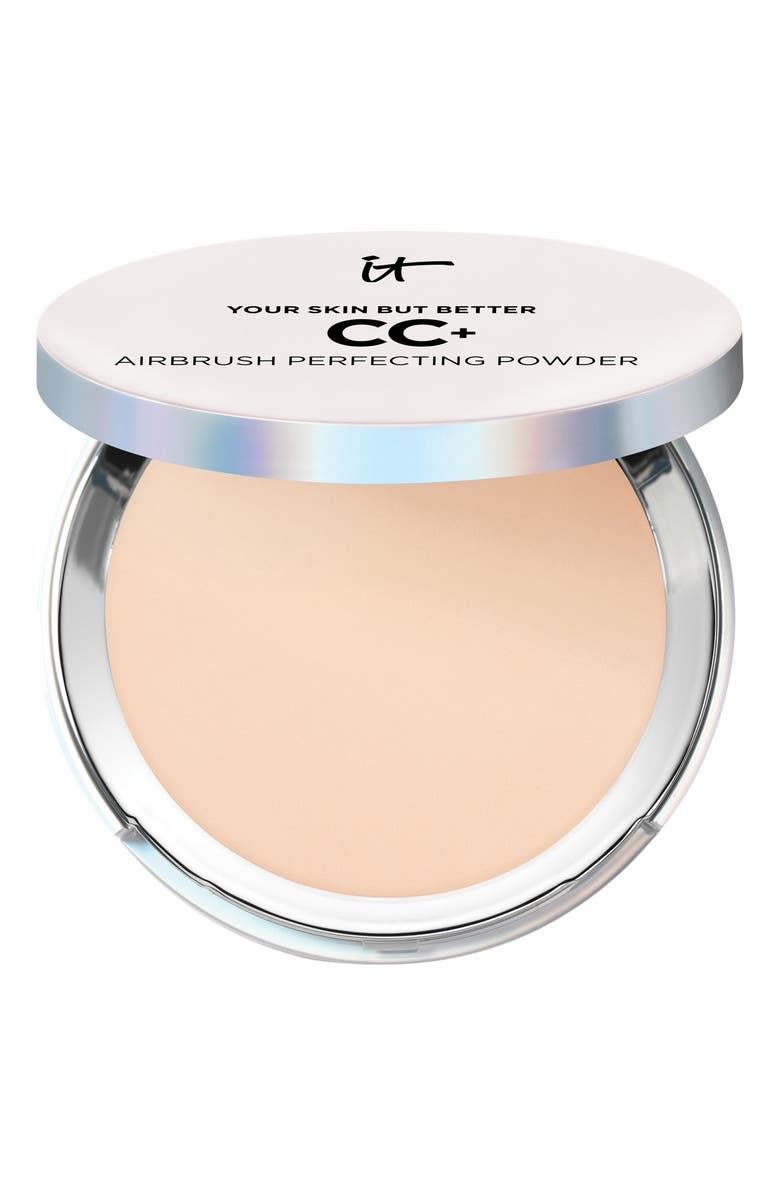 IT COSMETICS Your Skin But Better CC+ Airbrush Perfecting Powder, Main, color, LIGHT