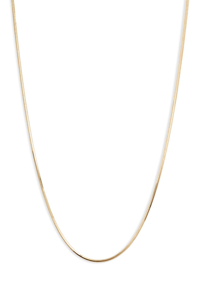 ARGENTO VIVO STERLING SILVER Argento Vivo Tuscany Sterling Chain Necklace, Main, color, GOLD