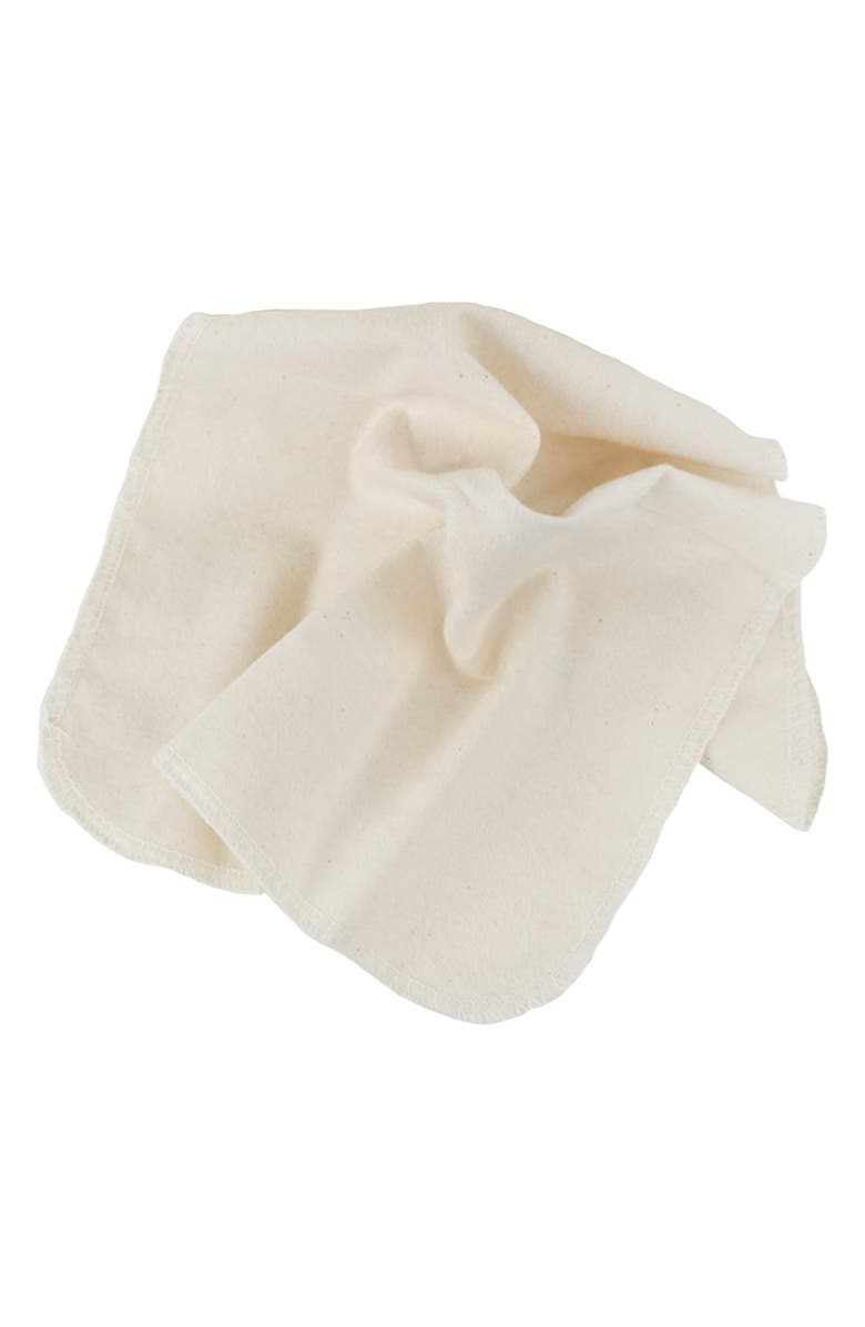 GLADRAGS Package Free x GladRags Organic Handkerchief, Main, color, White