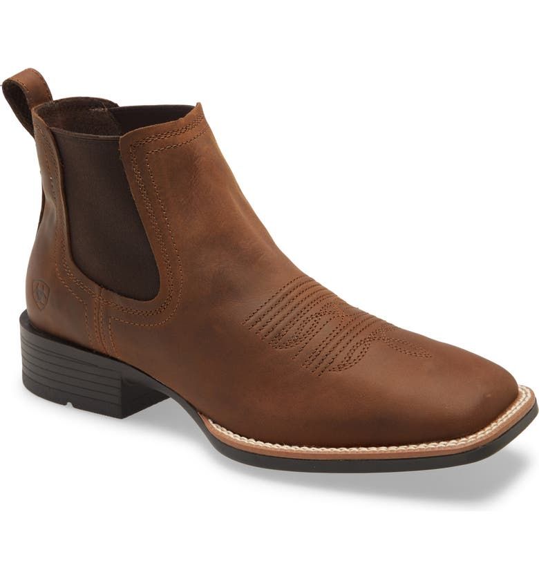 ARIAT Booker Ultra Chelsea Boot, Main, color, DISTRESSED TAN