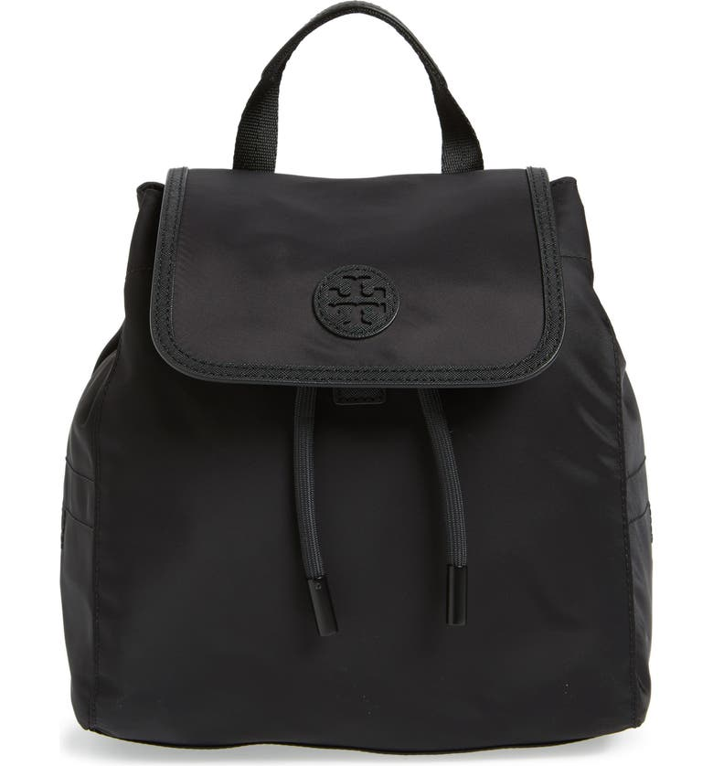 TORY BURCH Mini Scout Nylon Backpack, Main, color, 001