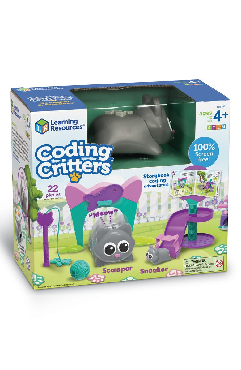 LEARNING RESOURCES Coding Critters<sup>™</sup> Scamper & Sneaker Set, Main, color, 960