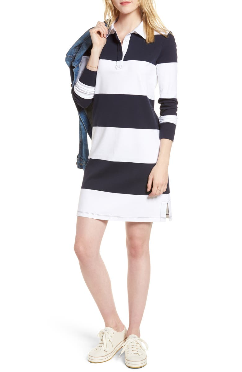 1901 Cotton Rugby Dress, Main, color, 410