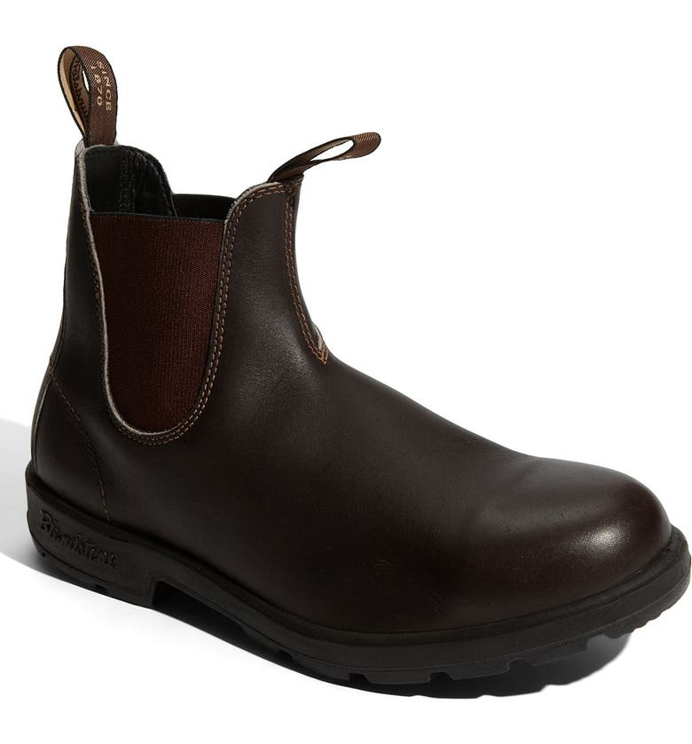 BLUNDSTONE FOOTWEAR Classic Chelsea Boot, Main, color, STOUT BROWN