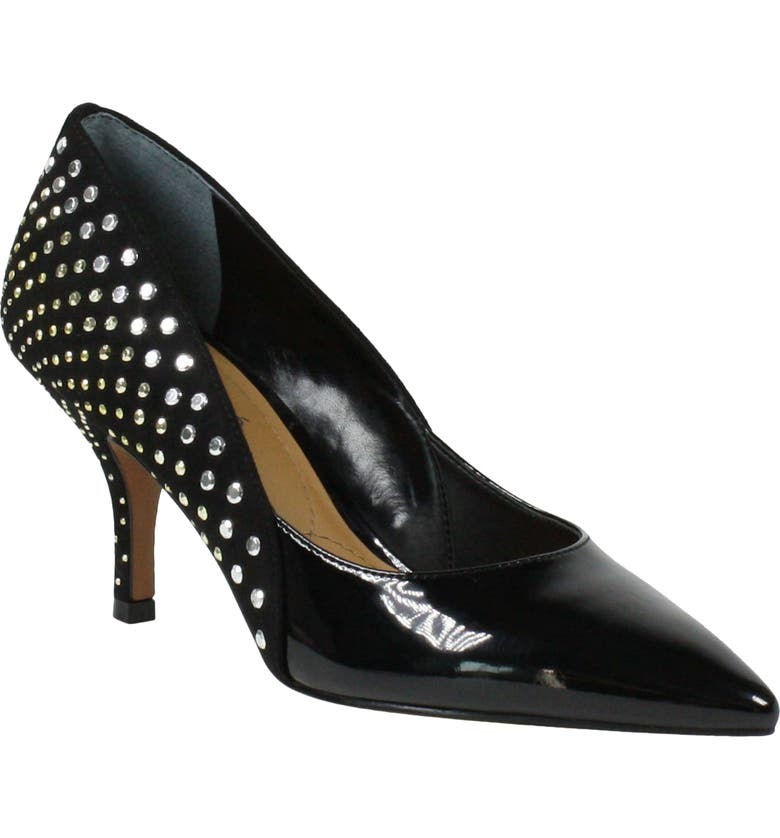 J. RENEÉ Jakey Pump, Main, color, BLACK PATENT/ SUEDE