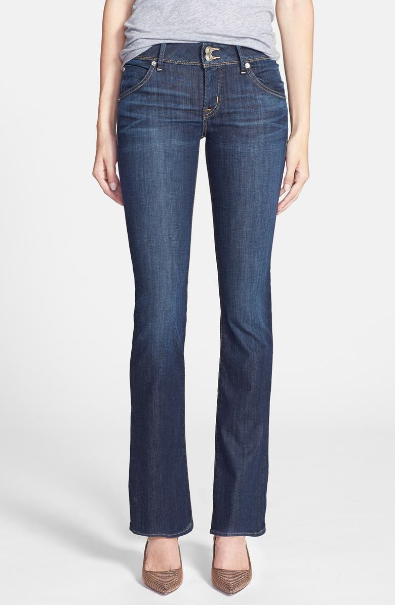 HUDSON JEANS 'Beth' Baby Bootcut Jeans, Main, color, STELLA