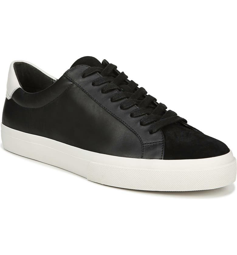 VINCE Fulton Sneaker, Main, color, BLACK PRINCE LEATHER