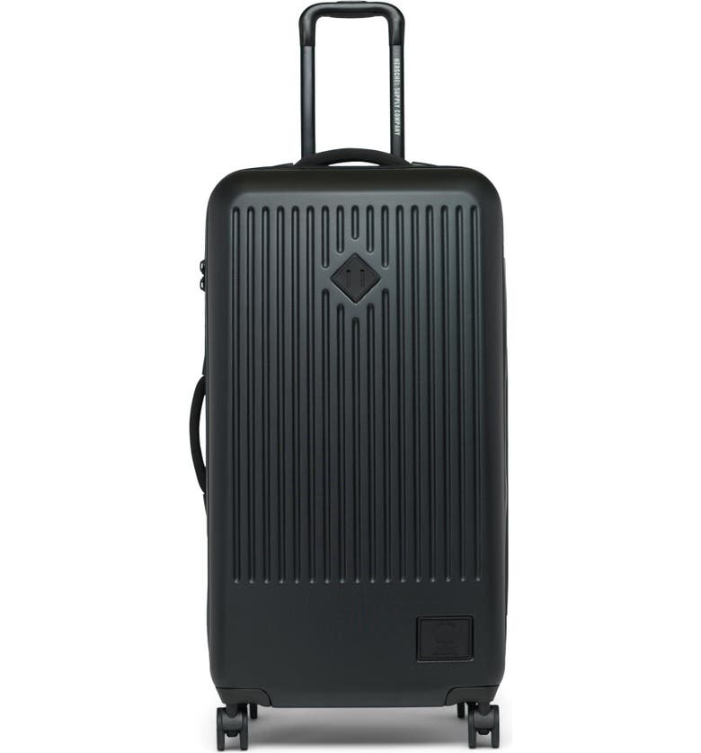 HERSCHEL SUPPLY CO. Trade 34-Inch Large Wheeled Packing Case, Main, color, VERY BLACK