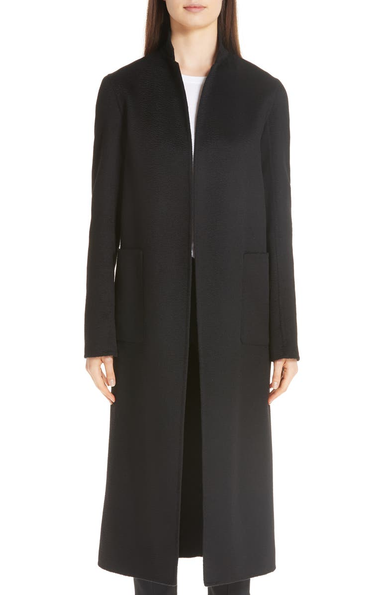ADAM LIPPES Cashmere Coat, Main, color, 001