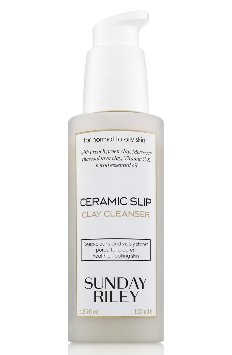 SUNDAY RILEY SPACE.NK.apothecary Sunday Riley Ceramic Slip Cleanser, Main, color, NO COLOR