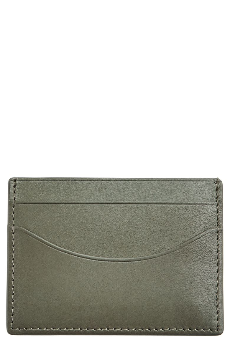 SKAGEN 'Torben' Leather Card Case, Main, color, 357
