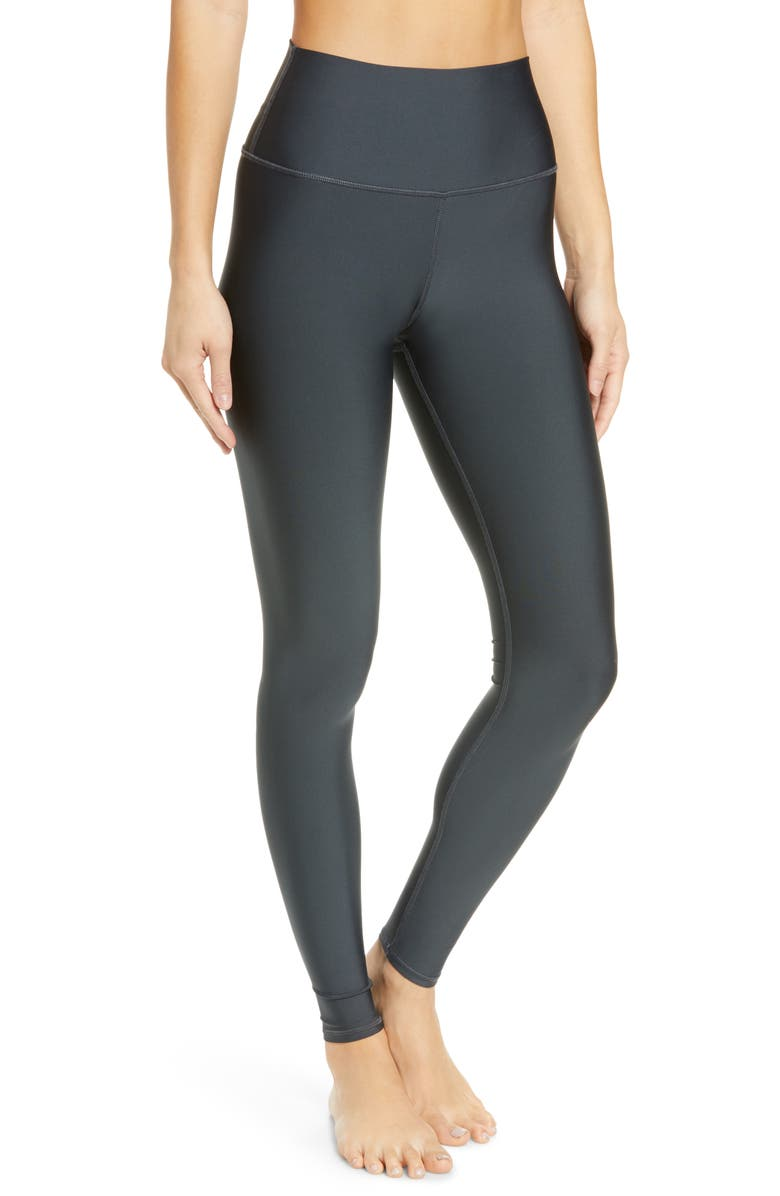 ALO Airlift High Waist Leggings, Main, color, ANTHRACITE
