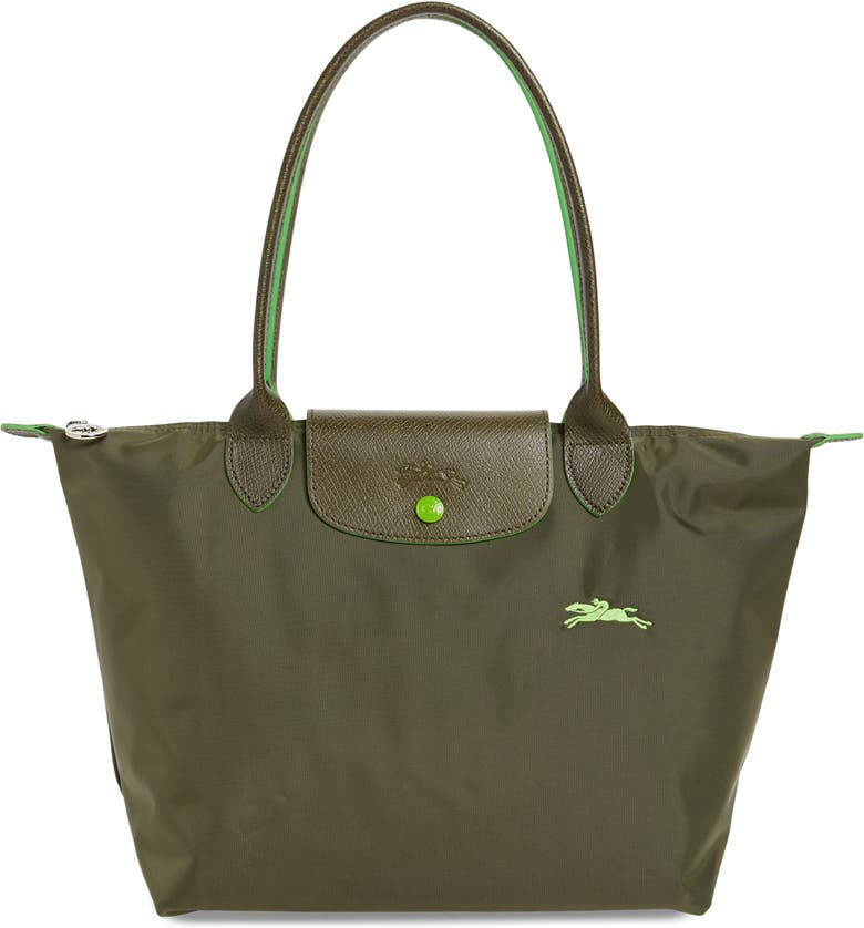 LONGCHAMP Le Pliage Club Medium Shoulder Tote, Main, color, FIR