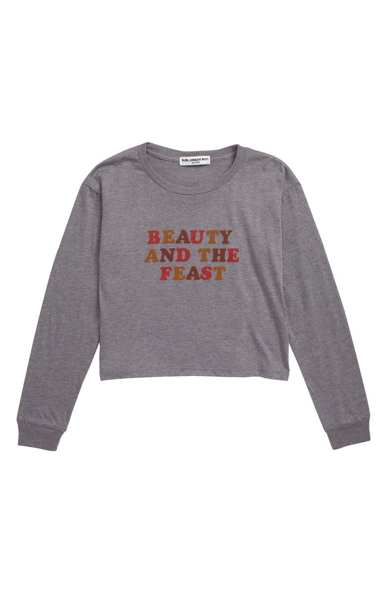 SUB_URBAN RIOT Beauty and the Feast Sweatshirt, Main, color, 020