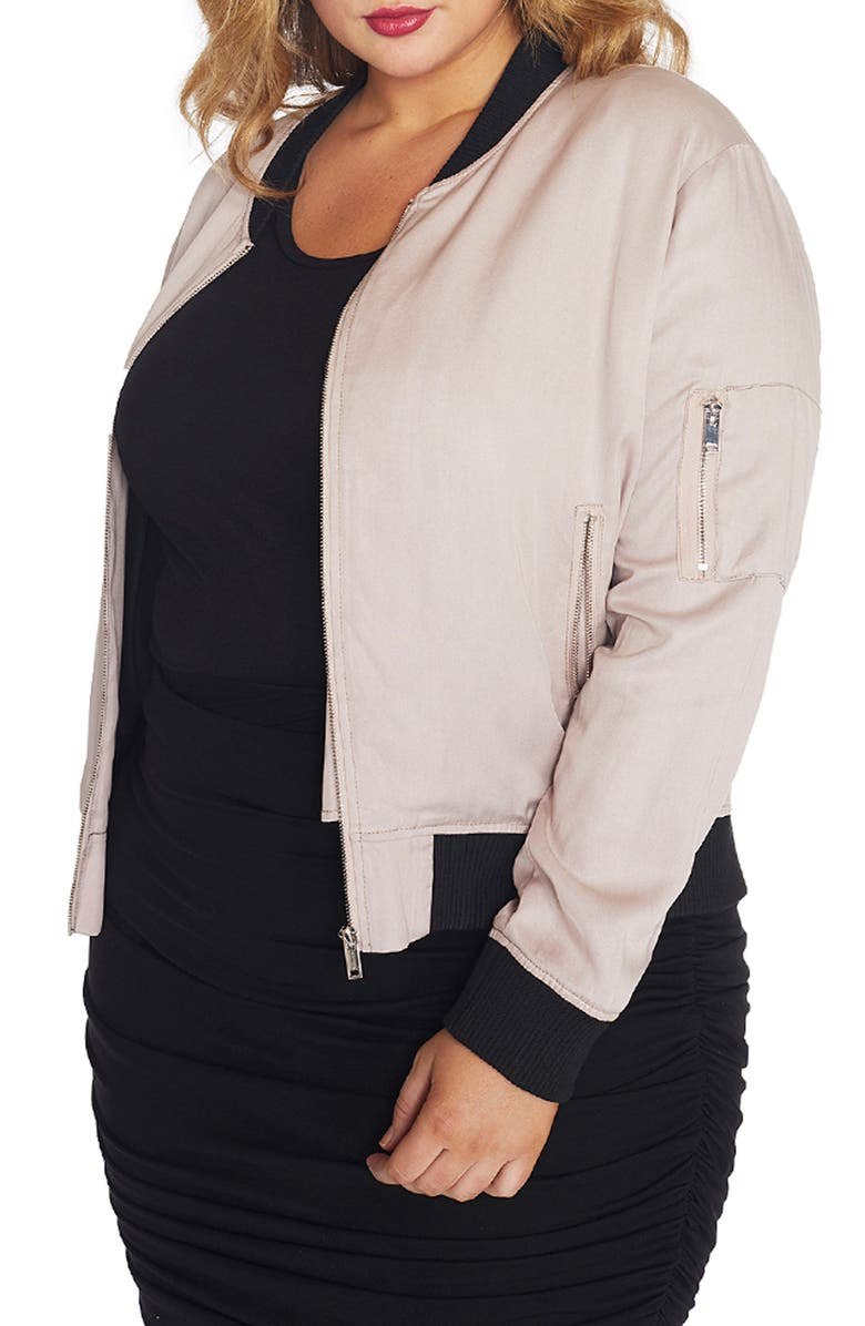 REBEL WILSON X ANGELS Signature Bomber Jacket, Main, color, 583