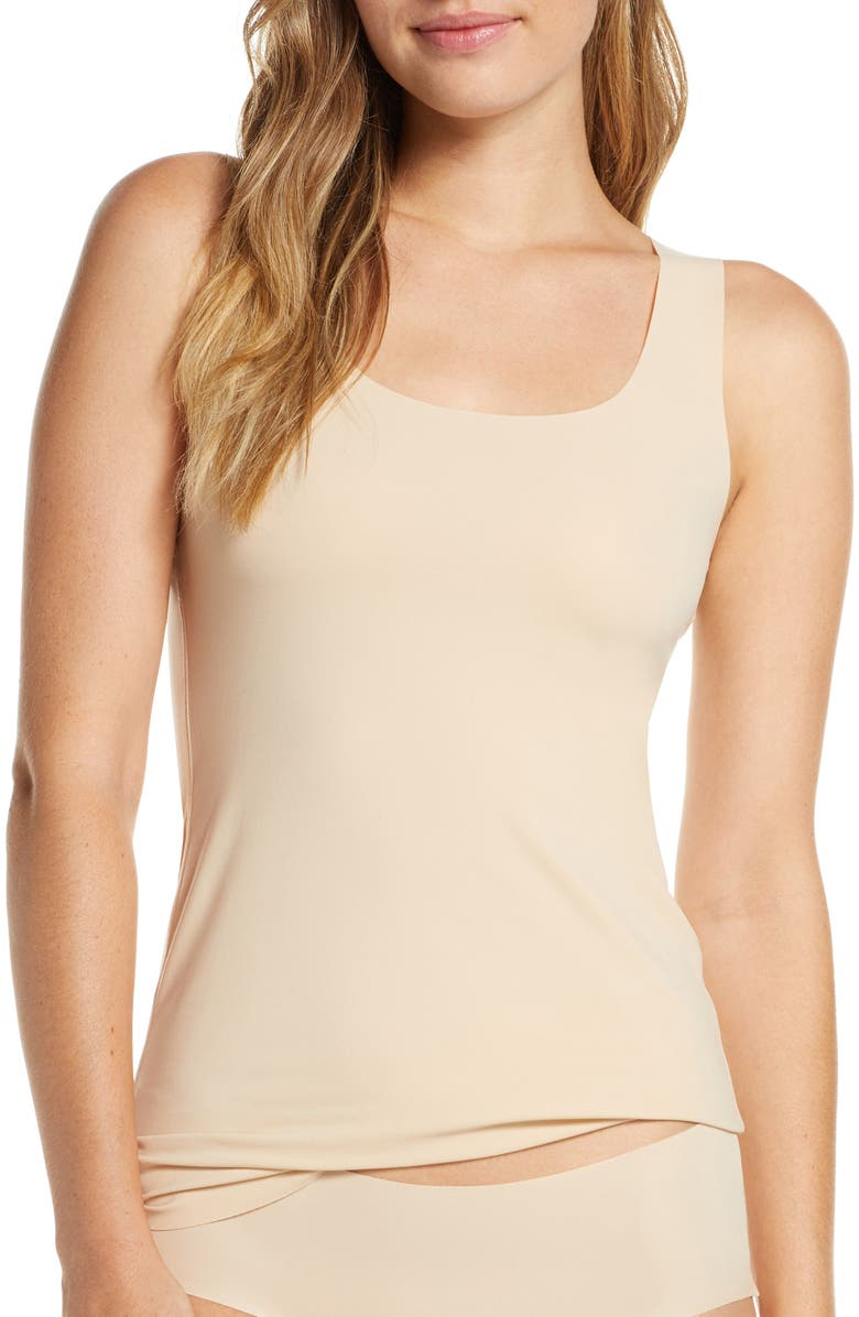 WACOAL Flawless Comfort Tank, Main, color, SAND