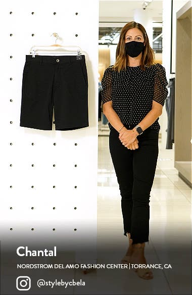 The Week-End Stretch Twill Chino Shorts, sales video thumbnail