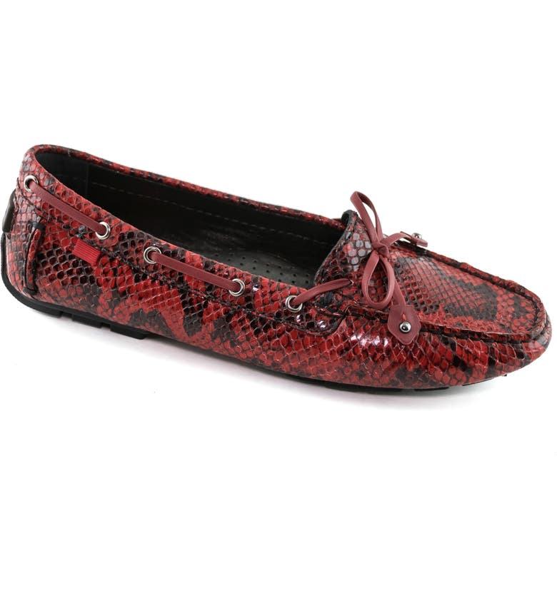 MARC JOSEPH NEW YORK Cypress Loafer, Main, color, CHERRY VIPER LEATHER