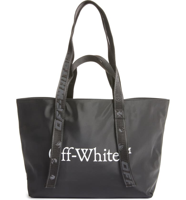 OFF-WHITE Small Logo Commercial Tote, Main, color, 001
