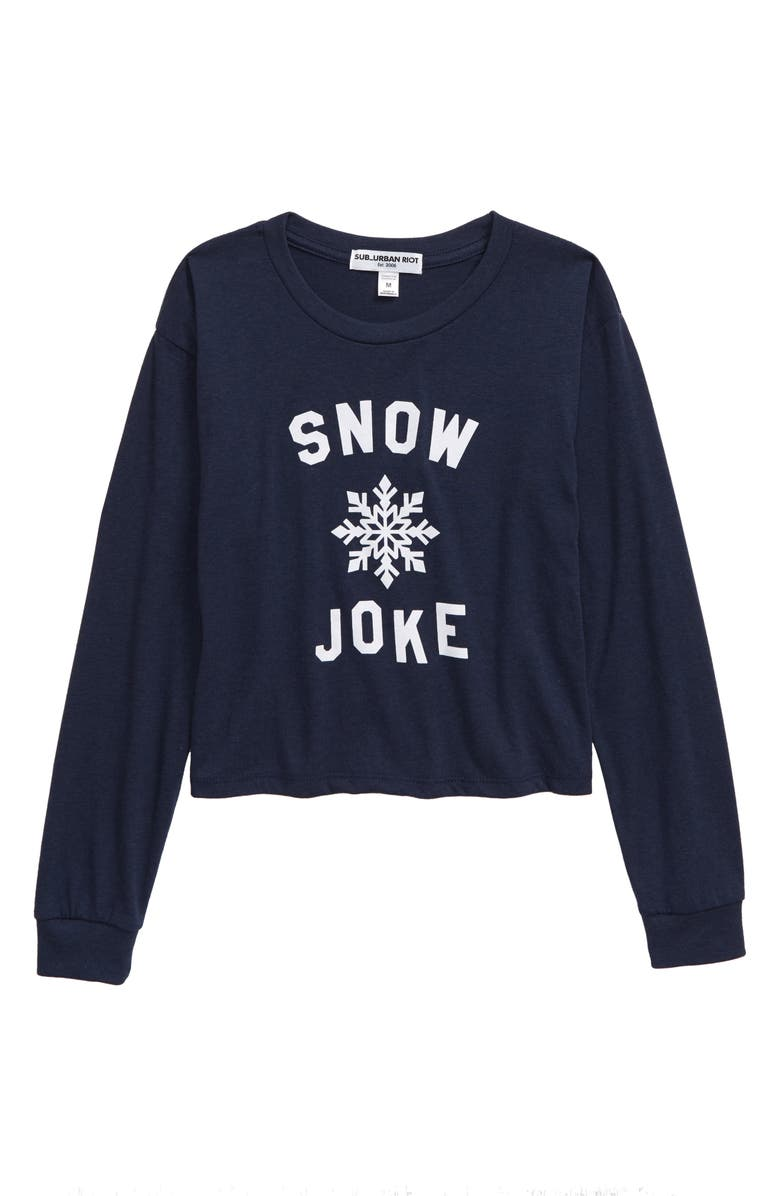 SUB_URBAN RIOT Snow Joke Allison Tee, Main, color, 410