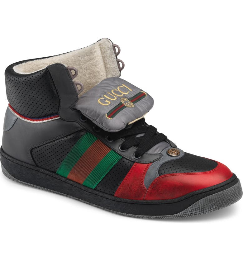 GUCCI Screener High Top Sneaker, Main, color, 600