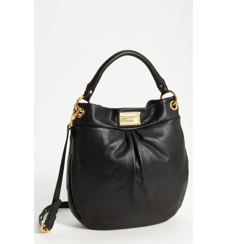 MARC JACOBS MARC BY MARC JACOBS 'Classic Q - Hillier' Hobo, Main, color, 001