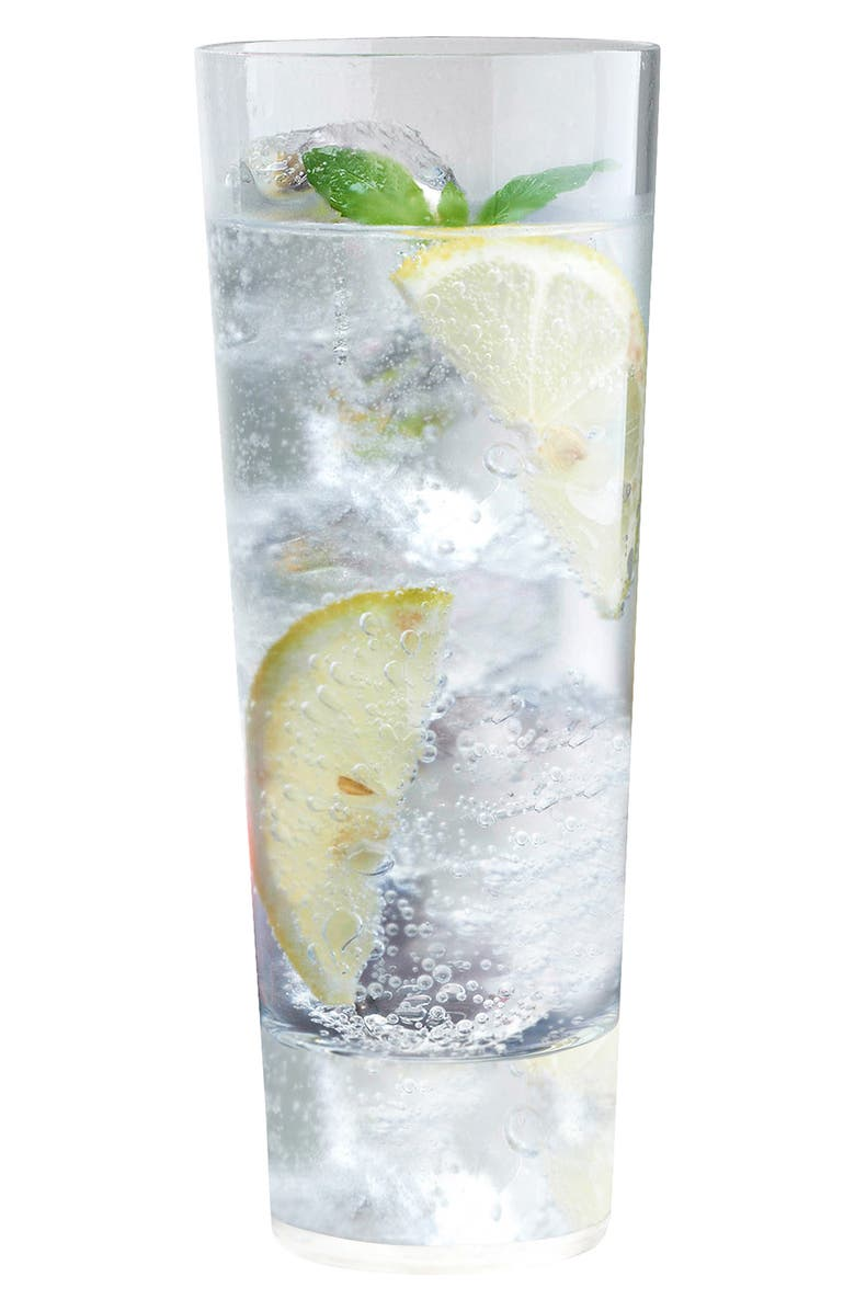 NUDE Highlands Set of 4 Highball Glasses, Main, color, CLEAR