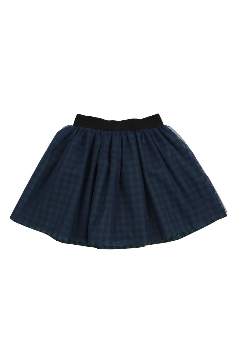 POPATU Check Tulle Skirt, Main, color, 351