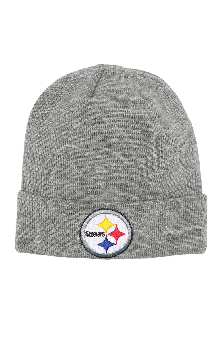 NFL Pittsburgh Steelers Beanie Hat, Main, color, 000NO COLOR