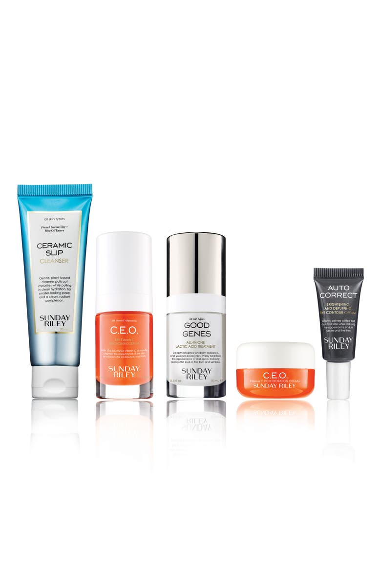 SUNDAY RILEY SPACE.NK.apothecary Sunday Riley Essentials Set, Main, color, 000