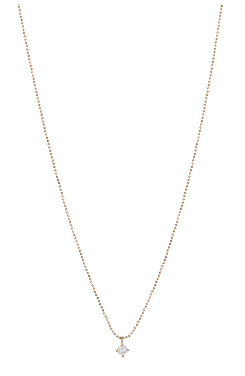 AREA STARS CZ Accented Beaded & Figaro Chain 3-Piece Necklace Set, Main, color, GOLD