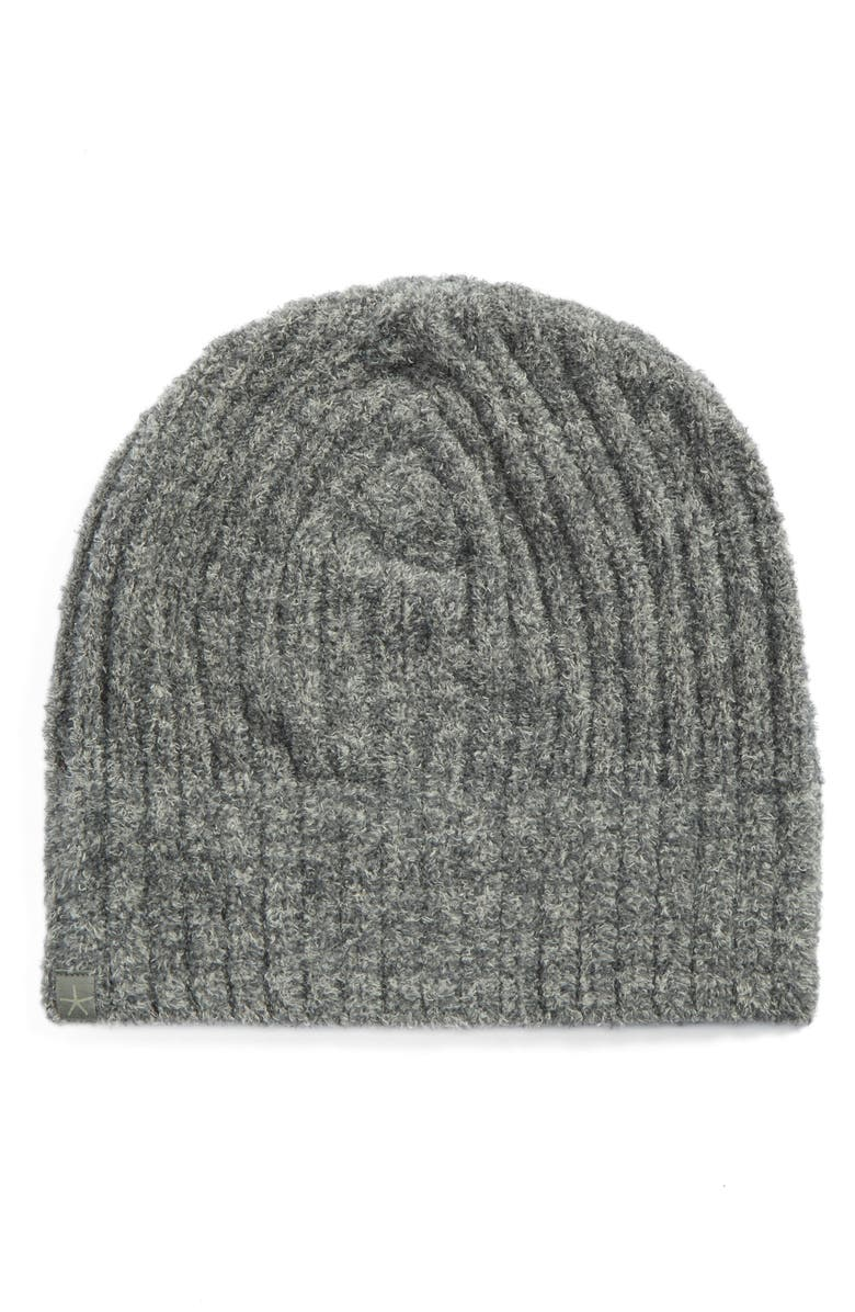 BAREFOOT DREAMS<SUP>®</SUP> Circle Ribbed Beanie, Main, color, 023