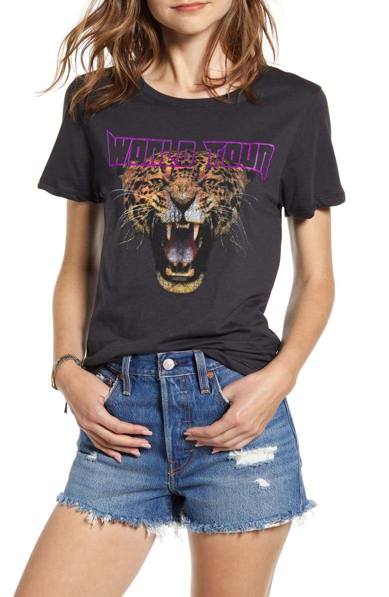 PRINCE PETER Cheetah Graphic Tee, Main, color, 001