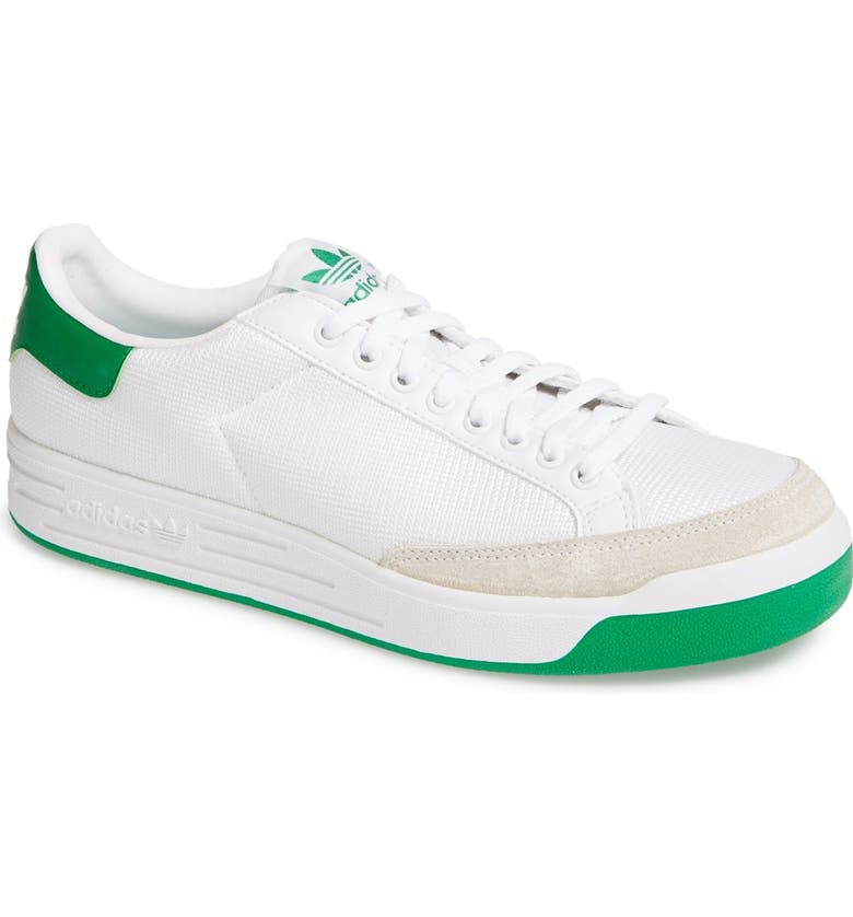 ADIDAS Rod Laver Vintage Sneaker, Main, color, WHITE/ FAIRWAY