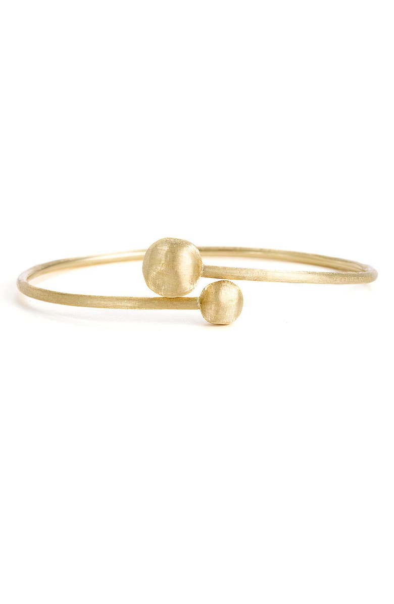 MARCO BICEGO 'Africa Gold - Small Hugging' Bangle, Main, color, Gold