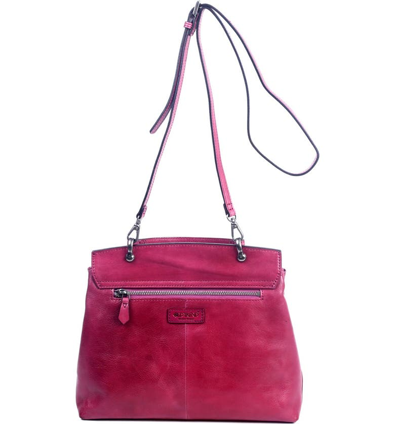 OLD TREND Sun Valley Leather Satchel Bag, Main, color, ORCHID