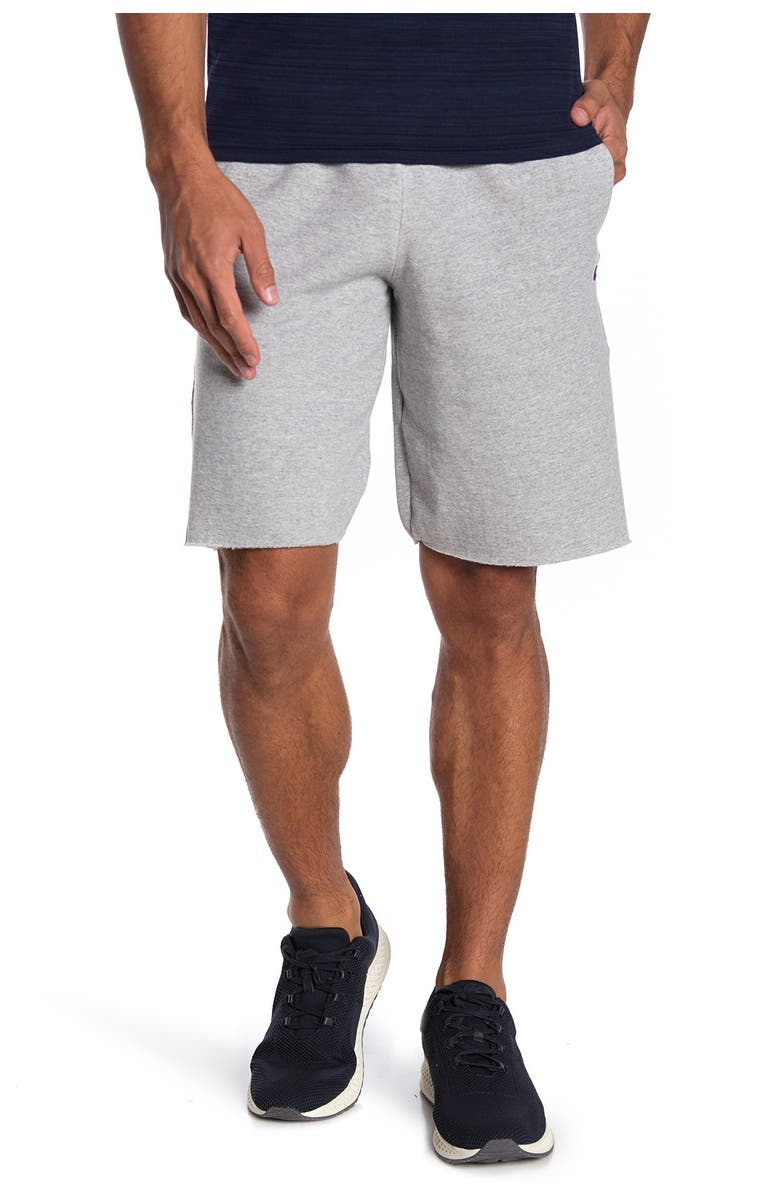 CHAMPION Powerblend Shorts, Main, color, OXFORD GRAY