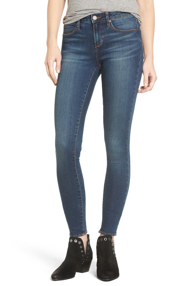 ARTICLES OF SOCIETY Mya Skinny Jeans, Main, color, 499