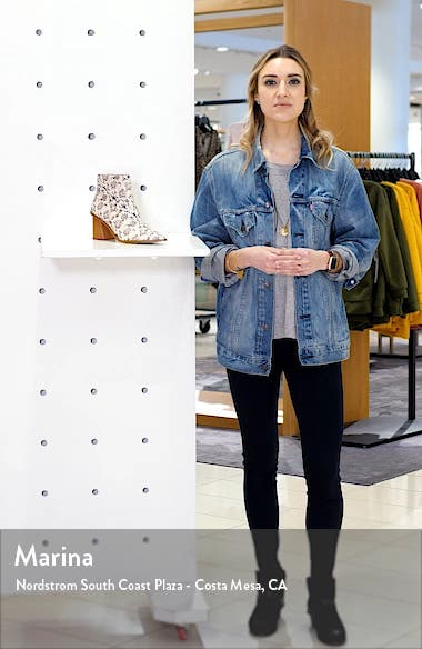 Kelte Pointed Toe Bootie, sales video thumbnail