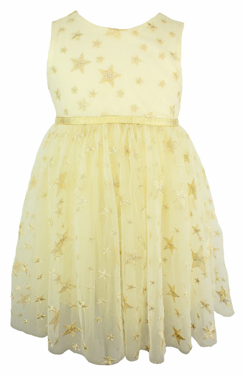 POPATU Embroidered Star Dress, Main, color, 902