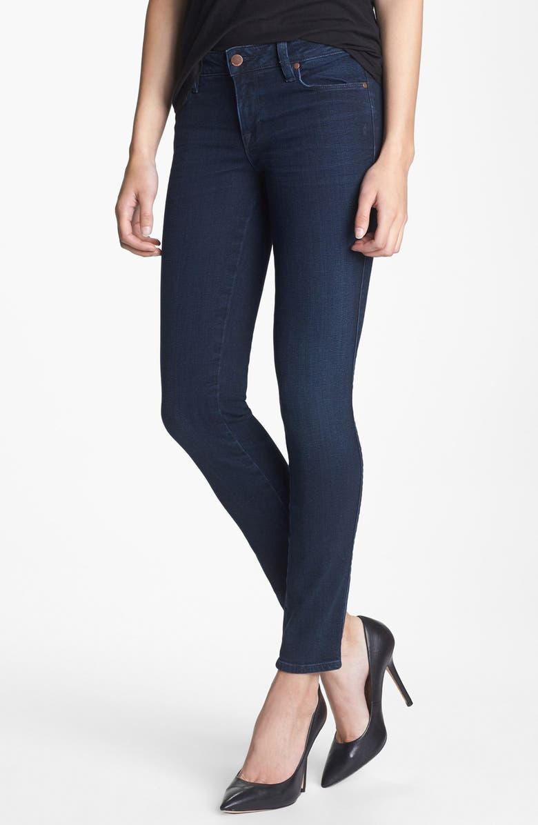 GENETIC 'The Shya' Cigarette Skinny Jeans, Main, color, 401