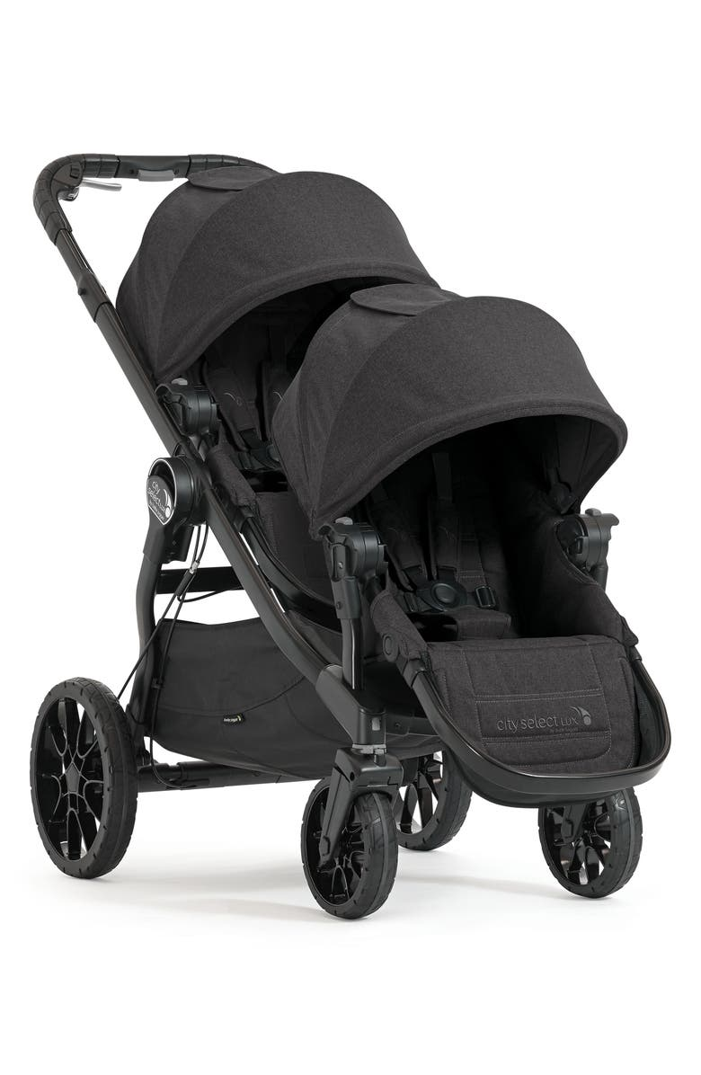 BABY JOGGER City Select<sup>®</sup> LUX Stroller with Second Seat, Main, color, GRANITE