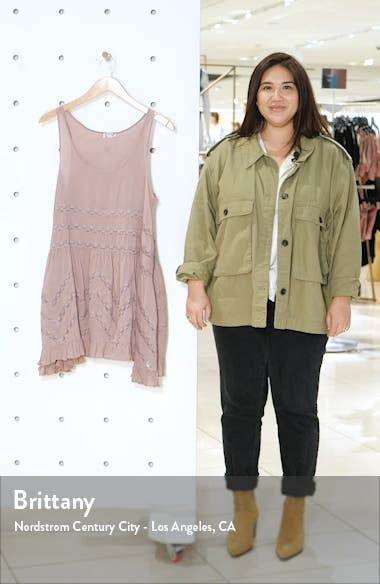 Swingy Lace Inset Tunic, sales video thumbnail