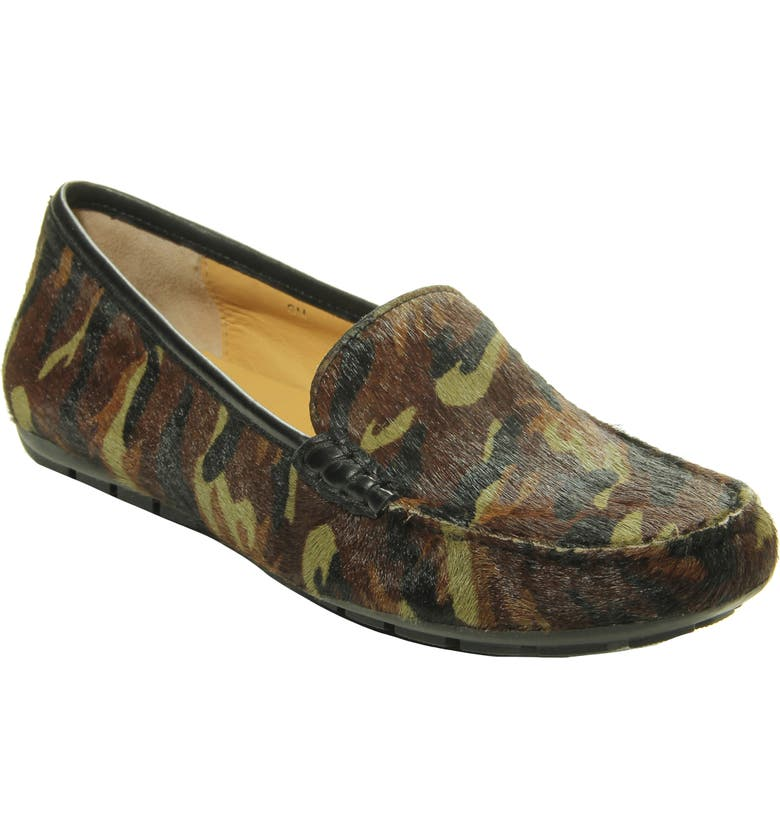 VANELI Albion Genuine Calf Hair Loafer, Main, color, CAMOUFLAGE CALF HAIR