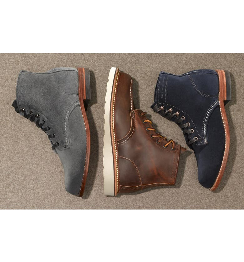 RED WING 6 Inch Moc Toe Boot, Main, color, 020